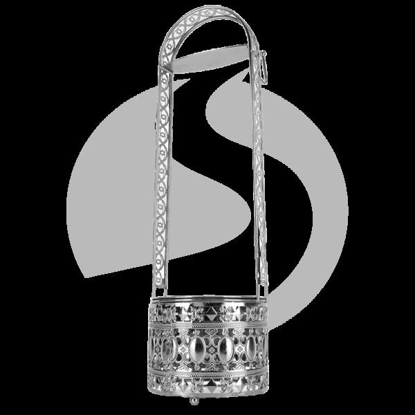 CRT Kohlebehälter Cha Groß - Silver