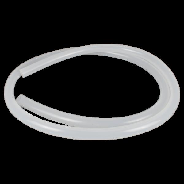Luna Silikonschlauch - Transparent Weiß