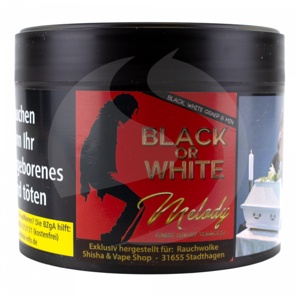 Melody Tobacco 200g - Black or White