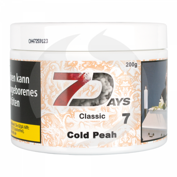 7 Days Tabak Classic 200g - Cold Peah (7)