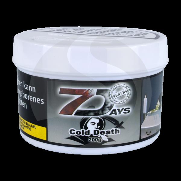 7 Days Tabak Platin 200g - Cold Death