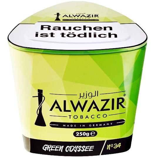 Al Wazir Tobacco 250g - No. 34 Green Odessey