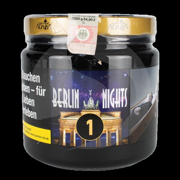Adalya Tabak 1kg Dose - Berlin Nights (1)