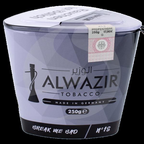 Al Wazir Tobacco 250g - No. 18 Break Me Bad