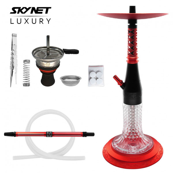 Skynet Shisha Luxury 720 - Red