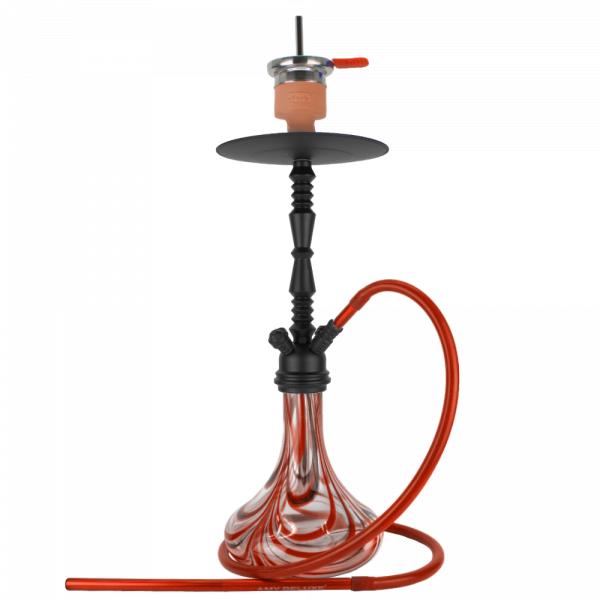 Amy Shisha Zoom 059R - PSMBK-RD (Red)