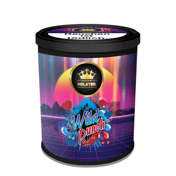 Holster Tobacco 200g - Wild Punch