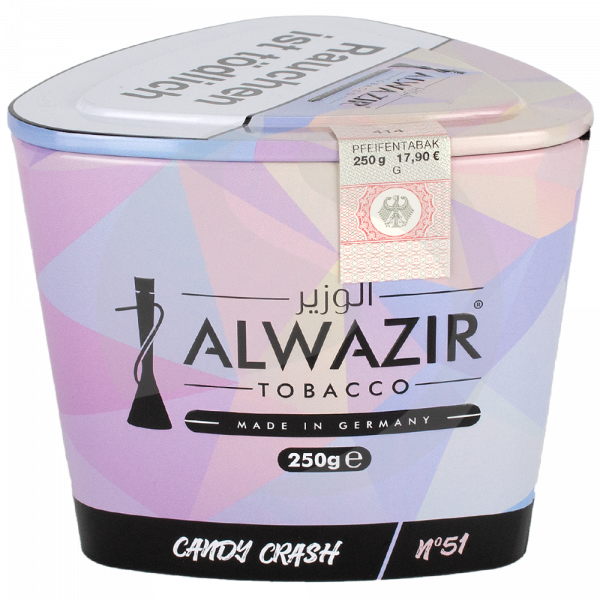 Al Wazir Tobacco 250g - No. 51 Candy Crash
