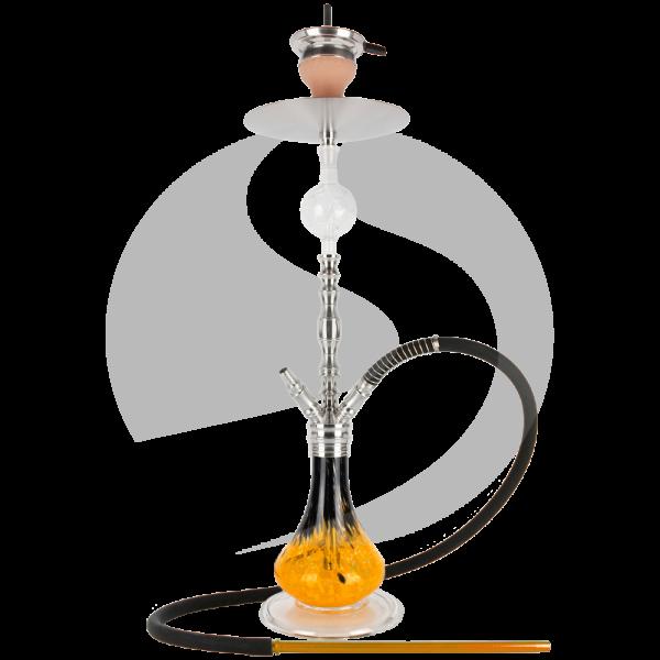 Papa Haram Hookah M03 - Orange/Schwarz