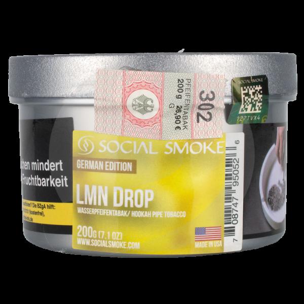 Social Smoke 200g - Lmn Drop