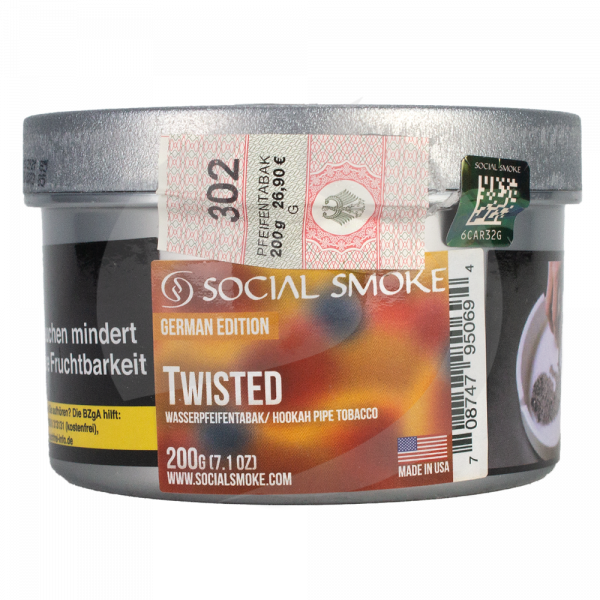Social Smoke 200g - Twisted