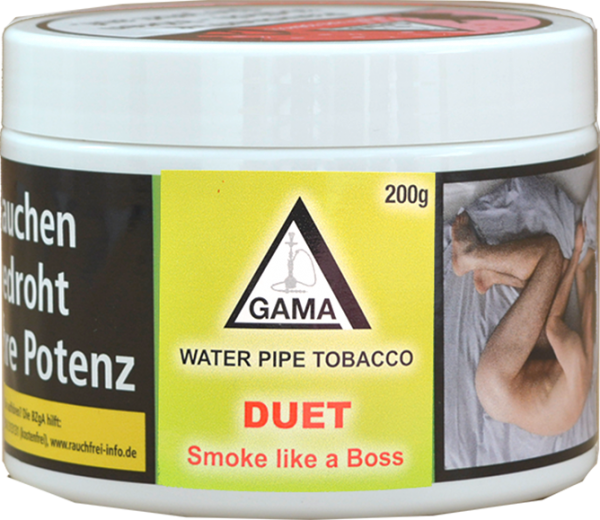 Gama Tobacco 200g - Duet (Smoke like a Boss)