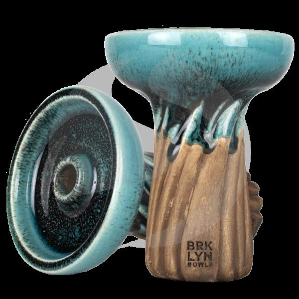 Brklyn Bowl Spiral Phunnel - Glaze Moray