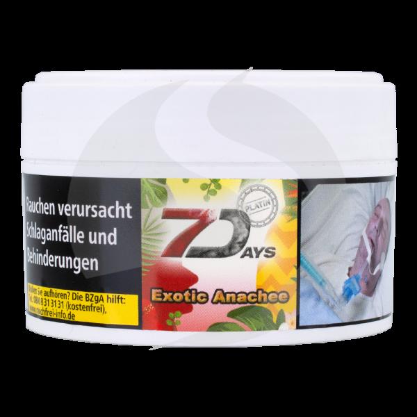 7 Days Tabak Platin 50g - Exotic Anachee