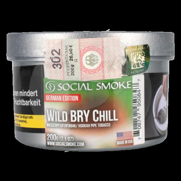 Social Smoke 200g - Wild Bry Chill