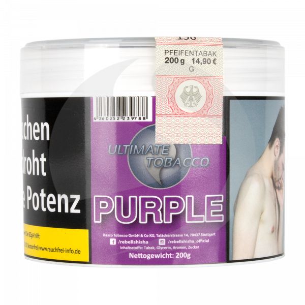 Nargilem Ultimate Tobacco 200g Dose - Purple