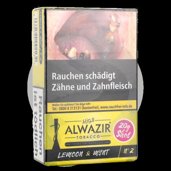 Al Wazir Tobacco 20g - No. 2 Lemoon
