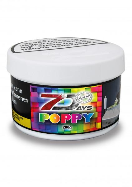7 Days Tabak Platin 200g - Poppy