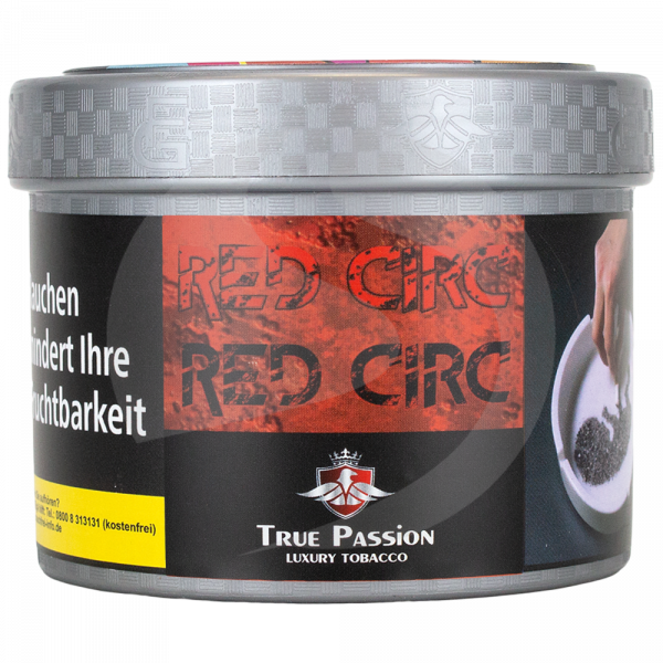 True Passion Tobacco 200g - Red Circ