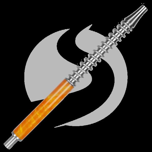 Shi Carver Mundstück Silver - Orange