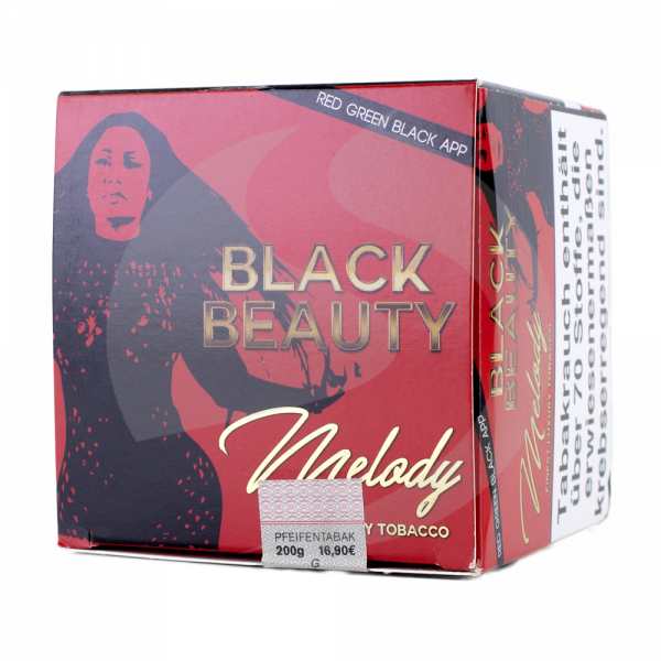 Melody Tobacco 200g - Black Beauty