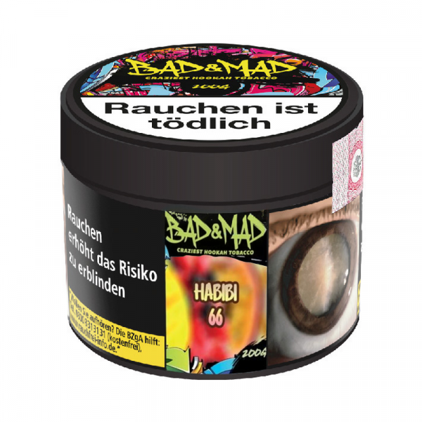Bad & Mad Tobacco 200g - Habibi 66
