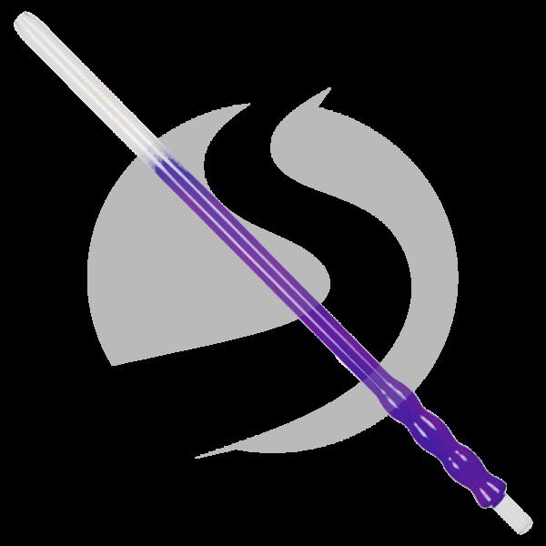 Caesar Glasmundstück Bubble 50cm - Purple
