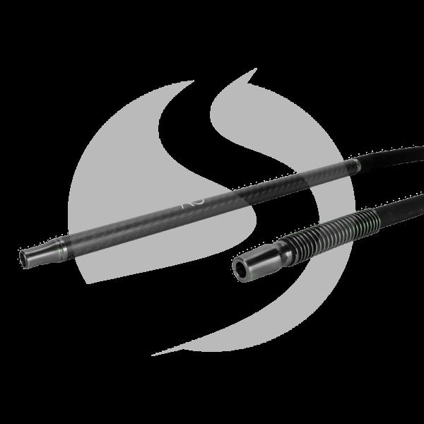 AO Hookah Carbon Schlauchset - Gun Metal/Matt Schwarz