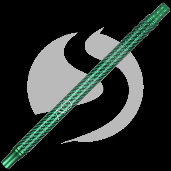 AO Alu-Carbonmundstück - Grün