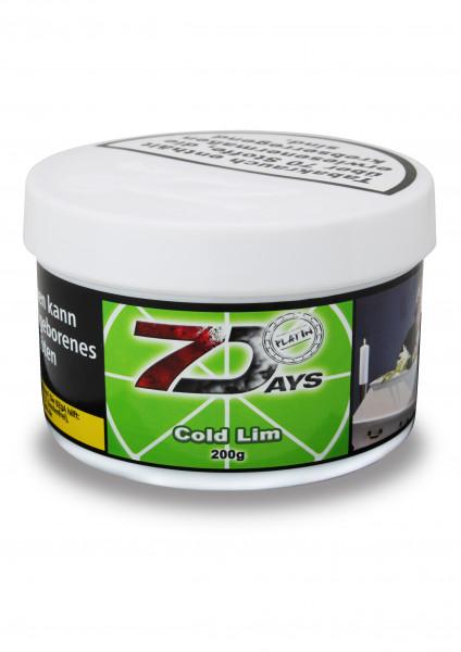 7 Days Tabak Platin 200g - Lim