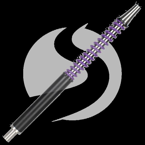 Shi Carver Mundstück Purple - Matt Black