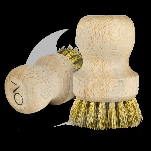 AO Kopfbürste mit Messingborsten