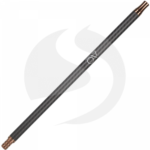 AO Carbon Mundstück Edelstahl V2A - Rose Gold/Matt Schwarz