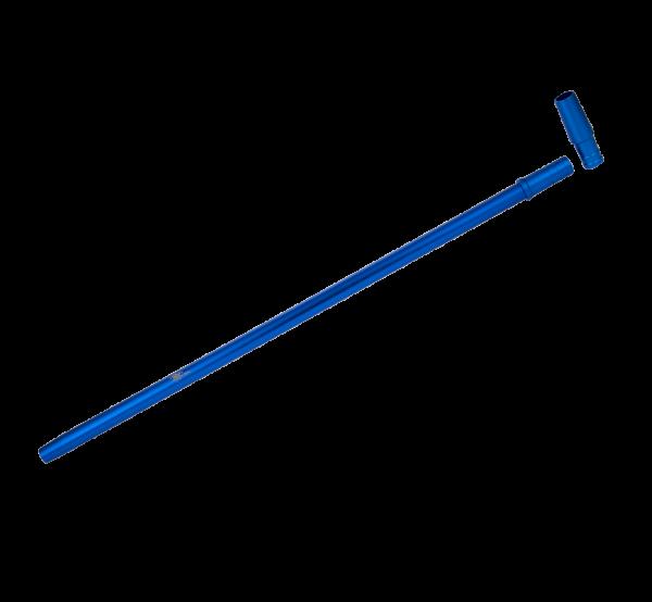 Jookah Alu Mundstück Slimy Fine 40cm inkl. Endstück - Blue