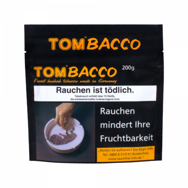 Tombacco Tabak 200g - Yellow Bomb