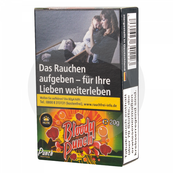 Holster Tobacco 20g - Bloody Punch