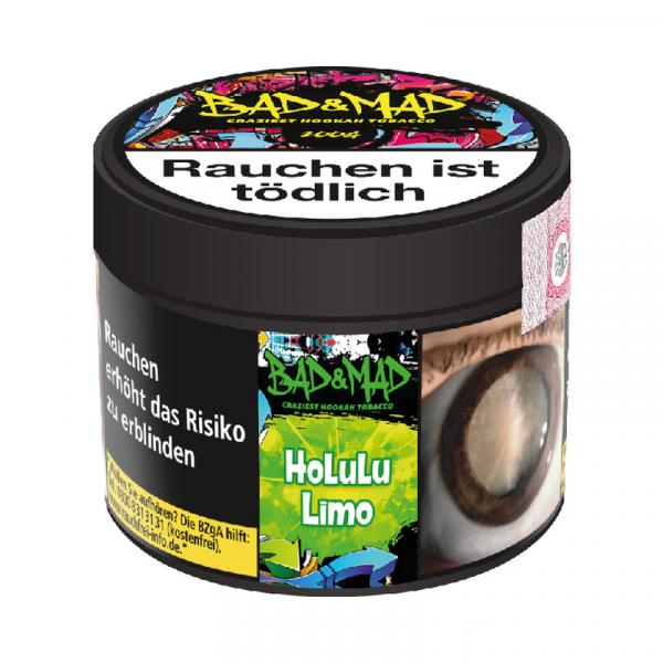 Bad & Mad Tobacco 200g - Holulu Limo