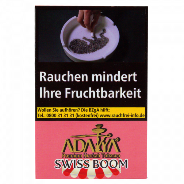 Adalya Tabak 50g - Swiss Boom