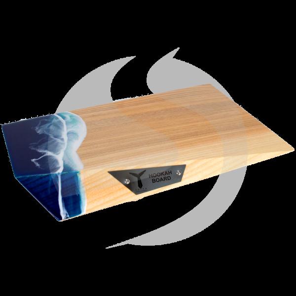 Totem Hookah Edge Board Wood - Ocean Wave