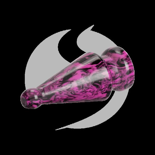 Phunnel Stopfen - Schwarz/Pink