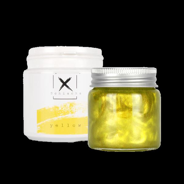 Xschischa X-Pulver 50g - Yellow Sparkle