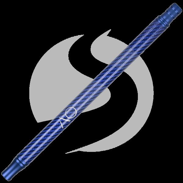 AO Alu-Carbonmundstück - Blau