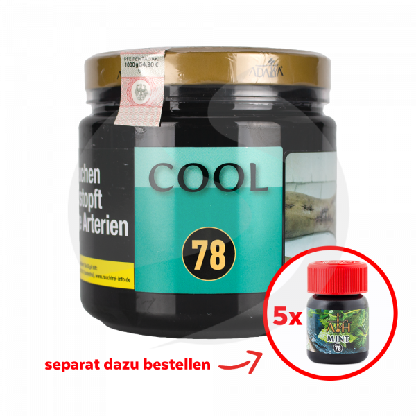 Adalya Tabak 1kg Dose - Cool (78)