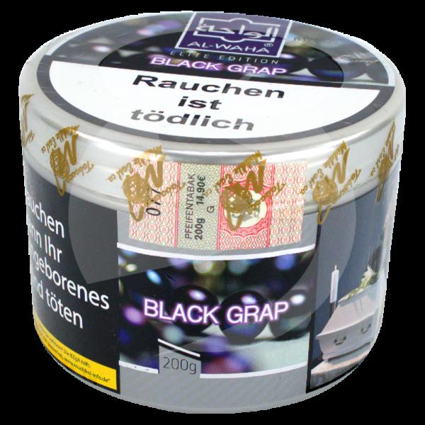 Al Waha 200g Dose - Black Grap