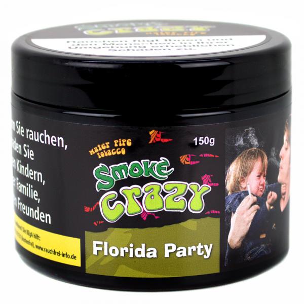 Smoke Crazy Tobacco 150g - Florida Party
