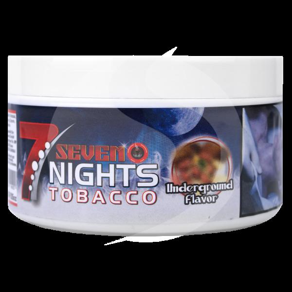 7 Nights Tabak 200g - Underground Flavor