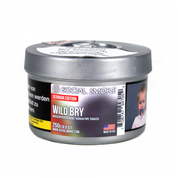 Social Smoke 250g - Wild Bry