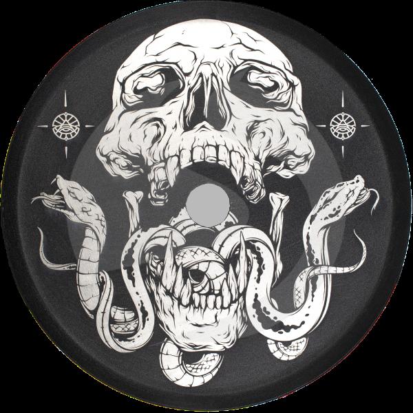 ALPHA Hookah Designed Kohleteller - Skull