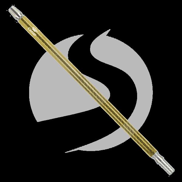 Caesar Mundstück Carbon 40cm - Gold