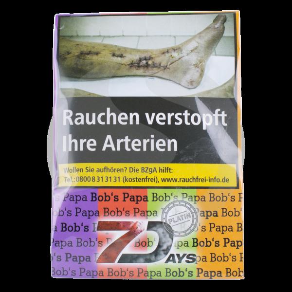 7 Days Tabak Platin 20g - Bob's Papa